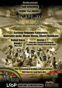 Escape to St Croix Film Screening