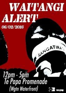 Waitangi Alert 2016