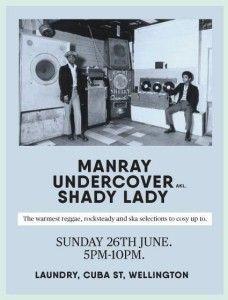 Manray, Undercover  (AK) & Shady Lady