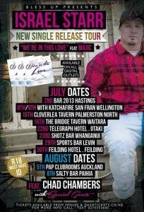 Israel Starr Single Release Tour