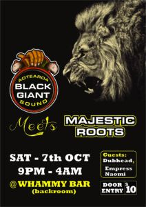 Black Giant Sound meets Majestic Roots