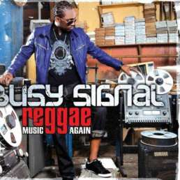 Busy Signal Music Again album cover