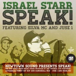 Israel Starr Speak cover
