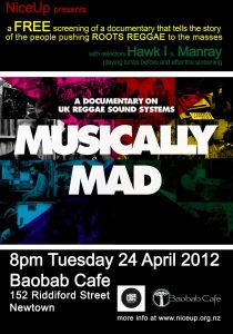 Musically Mad poster
