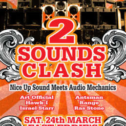 2 Sounds Clash poster