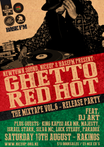Ghetto Red Hot Vol. 6 Mix Release - Auckland