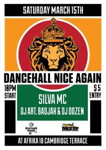 Dancehall Nice Again - March