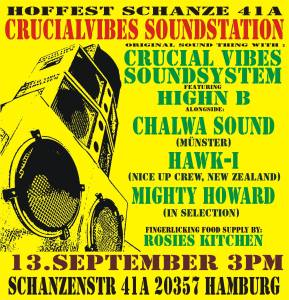 Crucial Vibes Sound Station