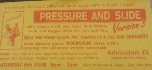 Pressure and Slide flyer