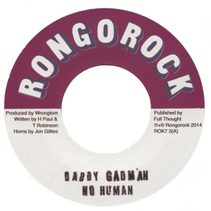 Daddy Gadman - No Human