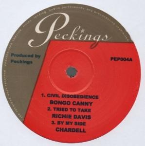 "Civil Disobedience 10"" EP"